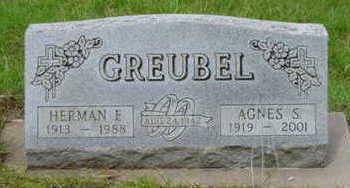 GREUBEL, HERMAN E - Warren County, Iowa | HERMAN E GREUBEL