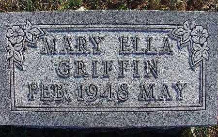 GRIFFIN, MARY ELLA - Warren County, Iowa | MARY ELLA GRIFFIN