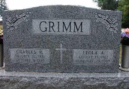 GRIMM, CHARLES R. - Warren County, Iowa | CHARLES R. GRIMM