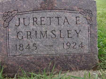 GRIMSLEY, JURETTA E. - Warren County, Iowa   JURETTA E. GRIMSLEY