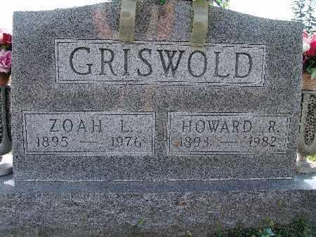 GRISWOLD, HOWARD R. - Warren County, Iowa | HOWARD R. GRISWOLD