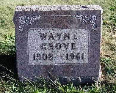GROVE, WAYNE - Warren County, Iowa | WAYNE GROVE
