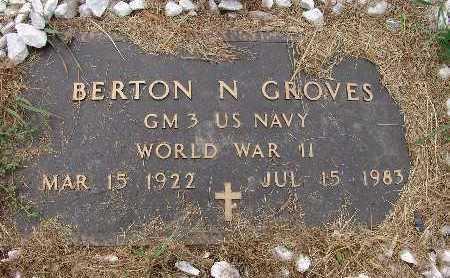 GROVES, BERTON N. - Warren County, Iowa   BERTON N. GROVES