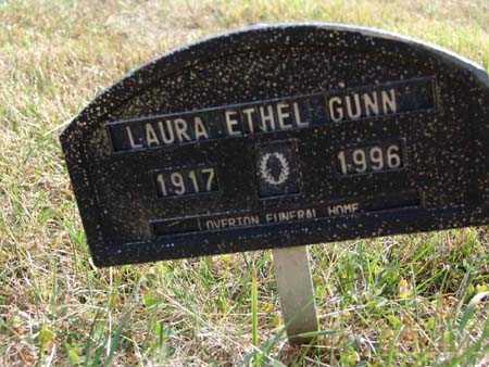 GUNN, LAURA ETHEL - Warren County, Iowa | LAURA ETHEL GUNN
