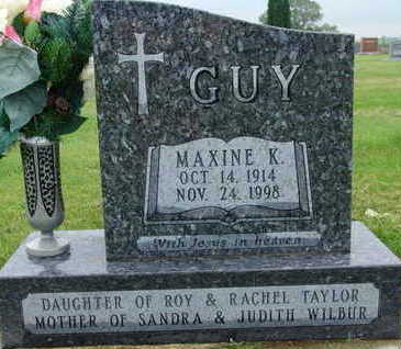 GUY, MAXINE K - Warren County, Iowa | MAXINE K GUY