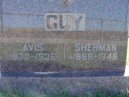 GUY, SHERMAN - Warren County, Iowa   SHERMAN GUY