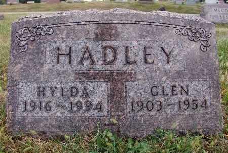HADLEY, HYLDA - Warren County, Iowa   HYLDA HADLEY