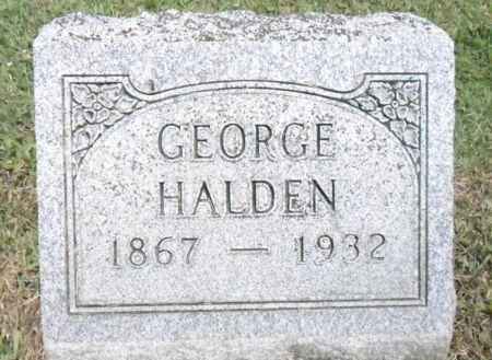 HALDEN, GEORGE - Warren County, Iowa | GEORGE HALDEN