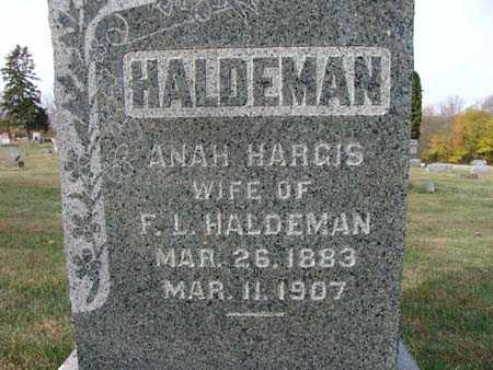HALDERMAN, ANAH HARGIS - Warren County, Iowa | ANAH HARGIS HALDERMAN