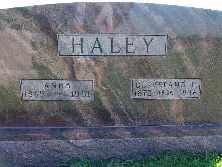 HALEY, ANNA - Warren County, Iowa | ANNA HALEY