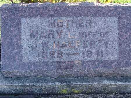 HALFERTY, MARY L. - Warren County, Iowa | MARY L. HALFERTY
