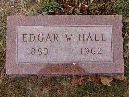 HALL, EDGAR W. - Warren County, Iowa | EDGAR W. HALL