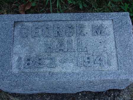 HALL, GEORGE M - Warren County, Iowa | GEORGE M HALL