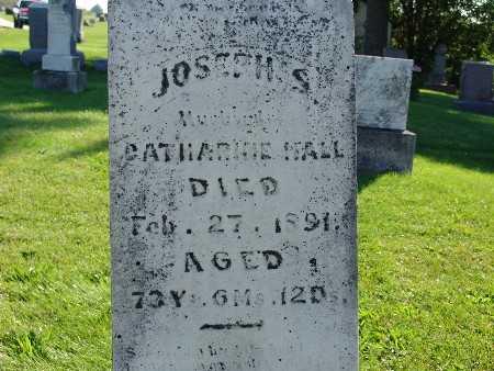 HALL, JOSEPH S - Warren County, Iowa   JOSEPH S HALL