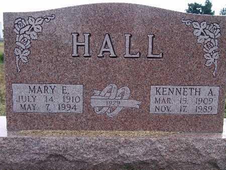 HALL, KENNETH A. - Warren County, Iowa | KENNETH A. HALL