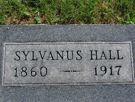 HALL, SYLVANUS - Warren County, Iowa   SYLVANUS HALL