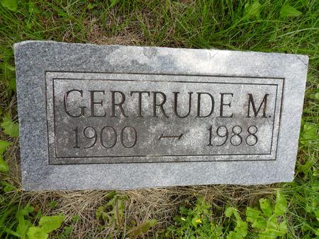 HALTOM, GERTRUDE M. - Warren County, Iowa | GERTRUDE M. HALTOM