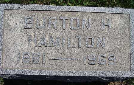 HAMILTON, BURTON H. - Warren County, Iowa | BURTON H. HAMILTON