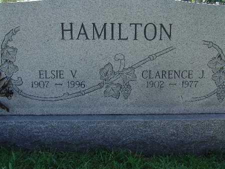 HAMILTON, ELSIE V - Warren County, Iowa | ELSIE V HAMILTON