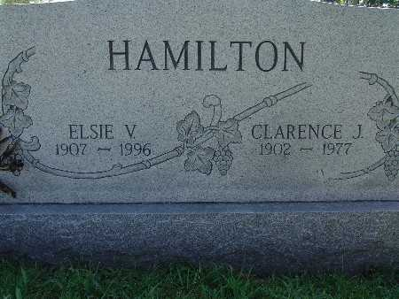 HAMILTON, CLARENCE J - Warren County, Iowa | CLARENCE J HAMILTON