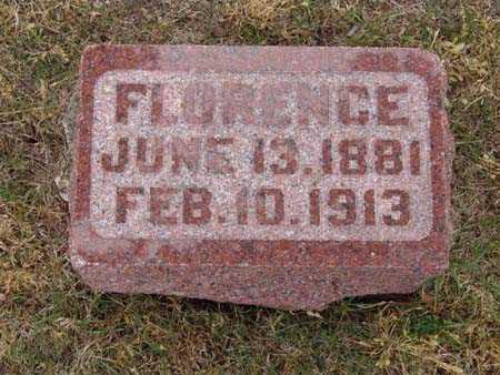 HAMILTON, FLORENCE - Warren County, Iowa | FLORENCE HAMILTON