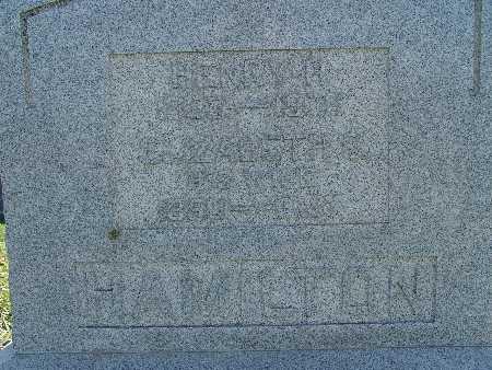 HAMILTON, HENRY H. - Warren County, Iowa   HENRY H. HAMILTON