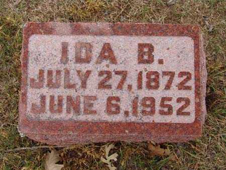 HAMILTON, IDA B. - Warren County, Iowa | IDA B. HAMILTON