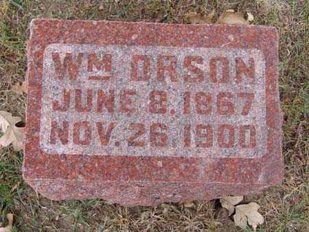 HAMILTON, WM. ORSON - Warren County, Iowa | WM. ORSON HAMILTON
