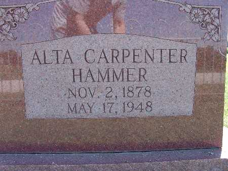 HAMMER, ALTA CARPENTER - Warren County, Iowa | ALTA CARPENTER HAMMER