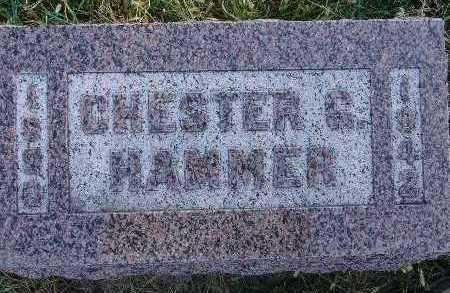 HAMMER, CHESTER G. - Warren County, Iowa   CHESTER G. HAMMER
