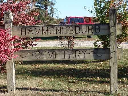 HAMMONDSBURG, CEMETERY - Warren County, Iowa | CEMETERY HAMMONDSBURG