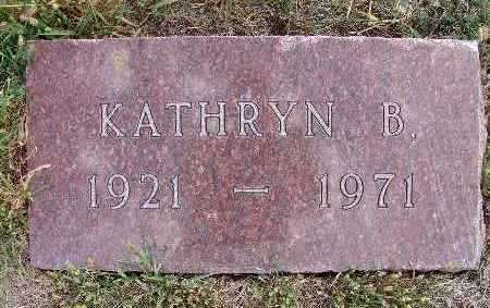 HARDIN, KATHRYN B. - Warren County, Iowa   KATHRYN B. HARDIN