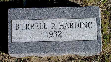 HARDING, BURRELL R. - Warren County, Iowa | BURRELL R. HARDING