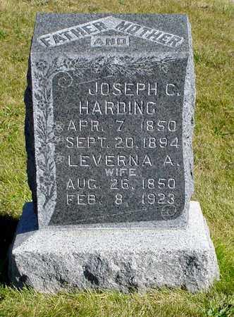 HARDING, JOSEPH C. - Warren County, Iowa | JOSEPH C. HARDING
