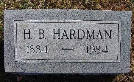 HARDMAN, H. B. - Warren County, Iowa   H. B. HARDMAN