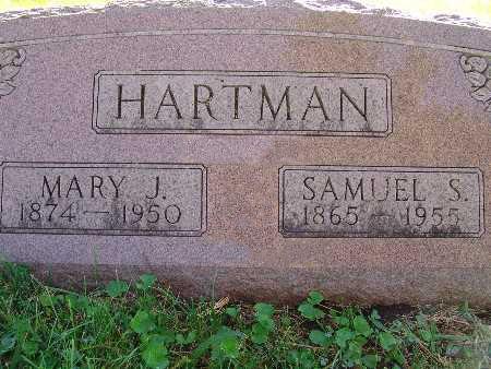 HARTMAN, MARY J. - Warren County, Iowa | MARY J. HARTMAN