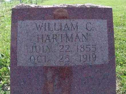 HARTMAN, WILLIAM C. - Warren County, Iowa   WILLIAM C. HARTMAN