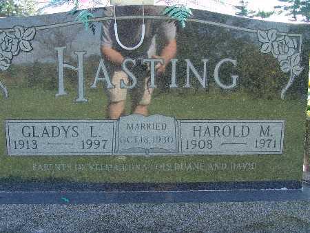 HASTING, GLADYS L - Warren County, Iowa | GLADYS L HASTING
