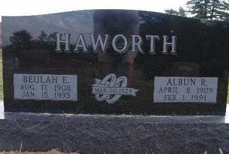 HAWORTH, BEULAH E. - Warren County, Iowa | BEULAH E. HAWORTH