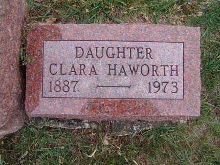HAWORTH, CLARA - Warren County, Iowa   CLARA HAWORTH
