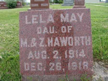HAWORTH, LELA MAY - Warren County, Iowa   LELA MAY HAWORTH