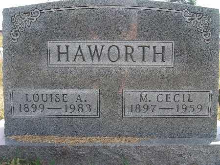 HAWORTH, LOUISE A. - Warren County, Iowa | LOUISE A. HAWORTH