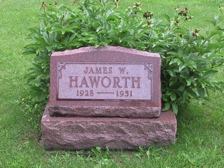 HAWORTH, JAMES W. - Warren County, Iowa   JAMES W. HAWORTH
