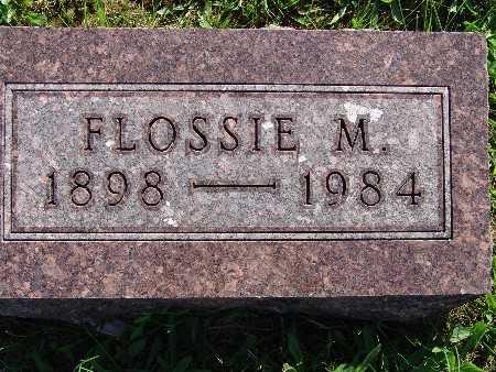 HEEMSTRA, FLOSSIE M - Warren County, Iowa | FLOSSIE M HEEMSTRA