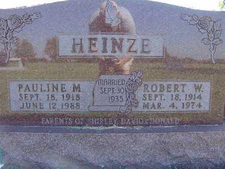 HEINZE, PAULINE M. - Warren County, Iowa | PAULINE M. HEINZE