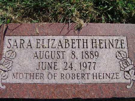 HEINZE, SARA ELIZABETH - Warren County, Iowa | SARA ELIZABETH HEINZE