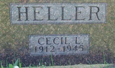 HELLER, CECIL L - Warren County, Iowa | CECIL L HELLER