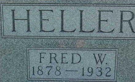 HELLER, FRED W - Warren County, Iowa | FRED W HELLER