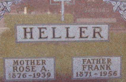 HELLER, ROSE A - Warren County, Iowa | ROSE A HELLER