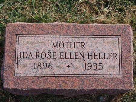 HELLER, IDA ROSE ELLEN - Warren County, Iowa | IDA ROSE ELLEN HELLER